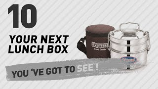 Expresso Lunch Boxes // New & Popular 2017