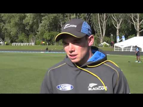 Tom Latham post day four, first ANZ Test, Dunedin