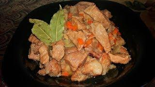 Как Правильно и Вкусно Приготовить Свинину на Сковороде Жарим Мясо  Fried Pork