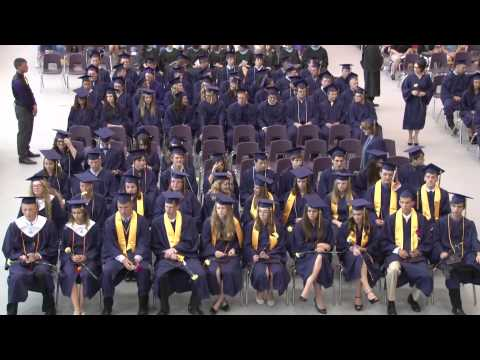 Fowlerville High School Commencement Class of 2013,Michigan,USA-Part V