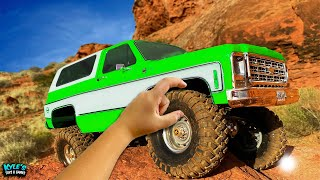 RC Cars 4x4 EXTREME Off Road Rock Crawling Action!