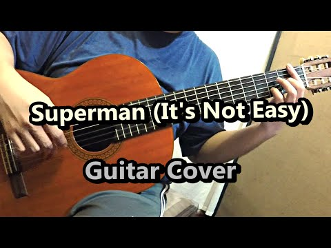 Superman - Five For Fighting (Guitar Cover)