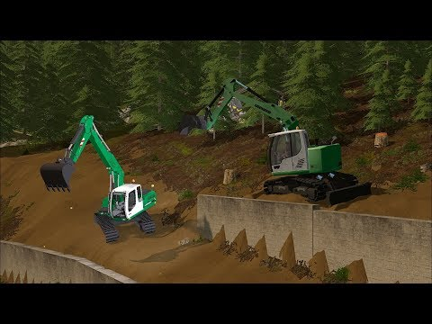 Farming Simulator 17 - Forestry and Farming on The Valley The Old Farm 013