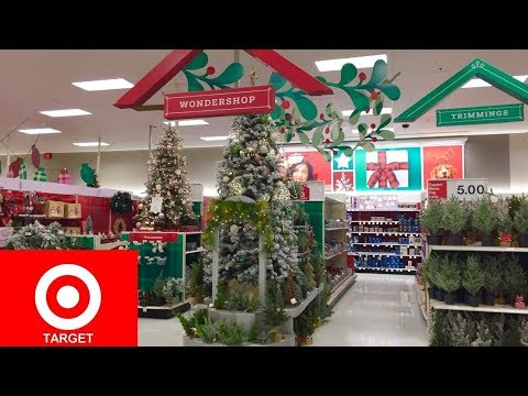 TARGET CHRISTMAS 2019 CHRISTMAS DECORATIONS HOME DECOR - SHOP WITH ME SHOPPING STORE WALK THROUGH 4K
