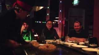 Tokyo Japanese Steakhouse in Bellevue: quite entertaining restaurant.