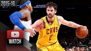 Kevin Love Full Highlights at Knicks (2016.03.26) - 28 Pts, 12 Reb