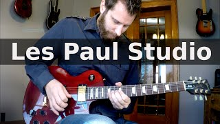 Gibson Les Paul Studio Demo!
