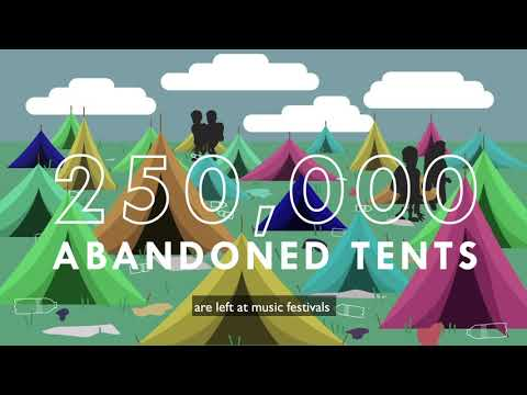 Take Your Tent Home - Say No To Single Use