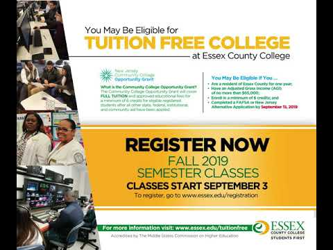 CCOG Essex County College promo Fall 2019