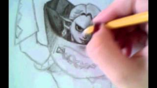 How to draw Girahim - The Legend of Zelda Skyward Sword