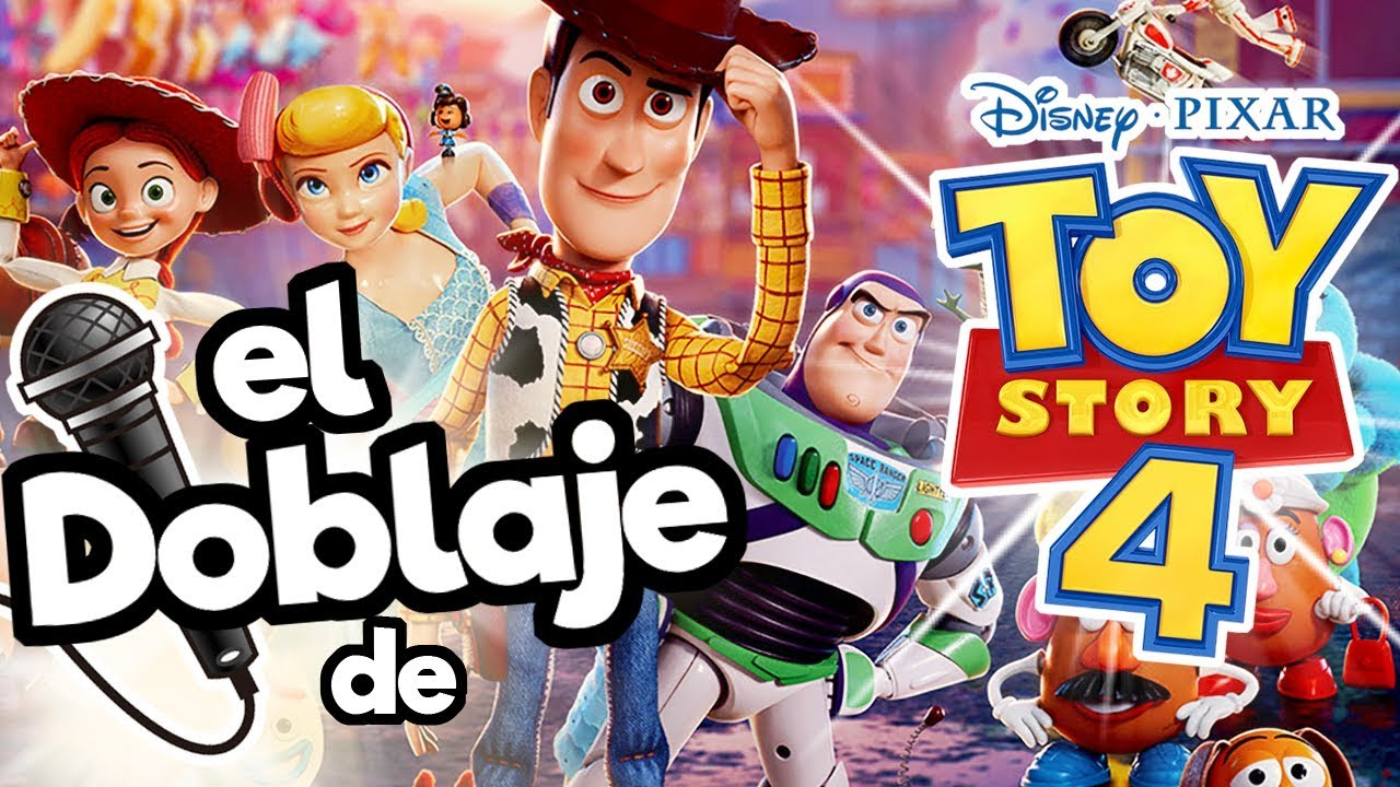 Ver El Doblaje Latino de Toy Story 4 !! / Memo Aponte en Español