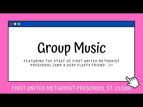 Group Music - First United Methodist Preschool St. Cloud