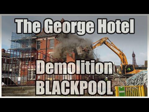 George Hotel Blackpool Demolition