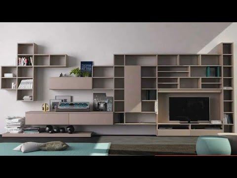 soggiorno libreria Infinity - YouTube