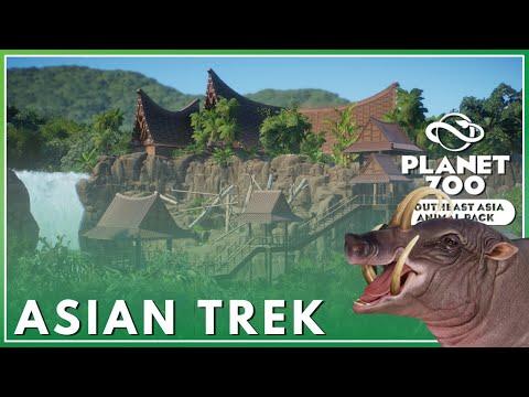 Cinematic Tour | Jambai Asian Trek | Planet Zoo: Southeast Asia Animal Pack |