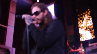 Post Malone Performs 'White Iverson' at 2017 Republic Records VMA After-Party in LA