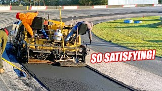homepage tile video photo for Renovating an Abandoned Racetrack Part 8 - HOT ASPHALT ALERT!!! Finishing the FF's Track Repairs!