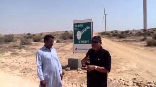 Pakistan wind farm  Jimpir by Salim Mastan  March 14 2012