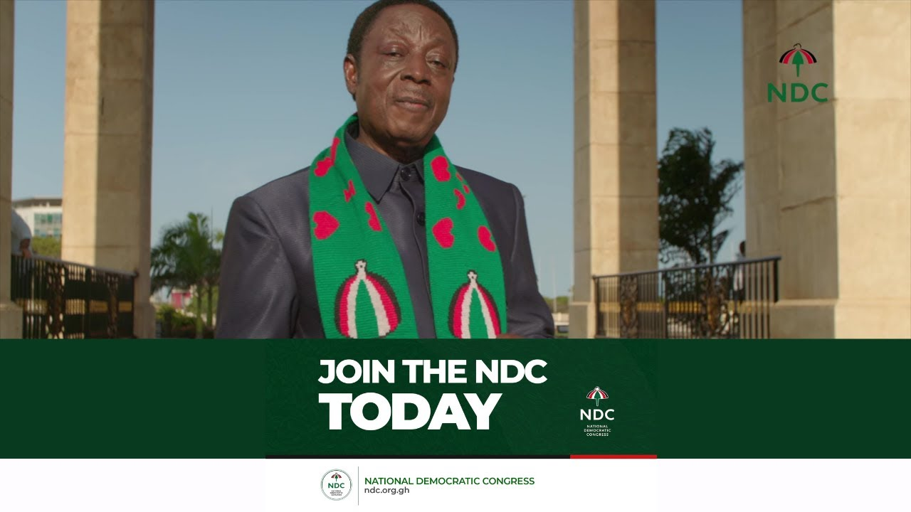 Download Dr Kwabena Duffuor - This is what the NDC means to me. Help Save Ghana, join the NDC today.
