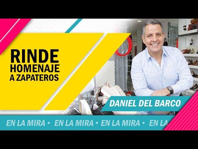 Daniel del Barco rinde homenaje a zapateros nacionales