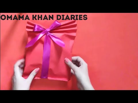 DIY Gift packing ideas | Paper Bag | Gift wrapping | Birthday Gifts