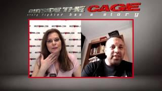 MMA reporter Susan Cingari interviews MMA coach and trainer Mohamed Atik