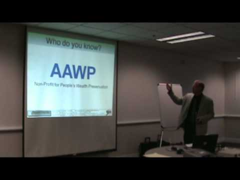 (PART 1 of 8, 09.18.10) AAWP: Estate Planning with Gerald W. Cummings, Attorney at Law