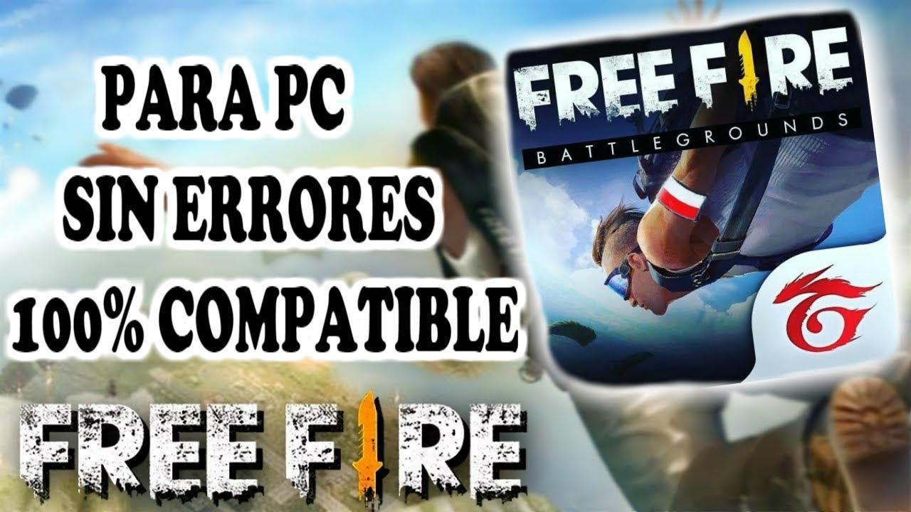 DESCARGAR FREE FIRE BATTLEGROUNDS PARA PC SIN…