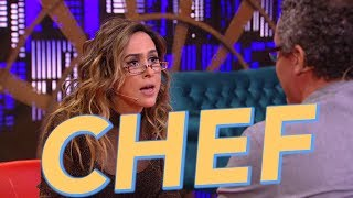 Chef - Entrevista Com Especialista - Tatá Werneck - Lady Night - Humor Multishow