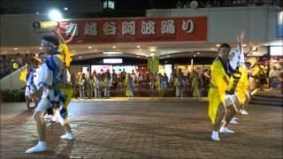 2015/08/22 第31回南越谷阿波踊り2015 本祭初日 越谷コミュニティーセン...