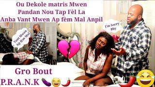 Anmweyy P.R.A.N.K Sa Resi Trop Pou Fr Christ🤣||Mwen Dil Li Dekole Matris Mwen Ak...😂 Li Prank Mw Tou