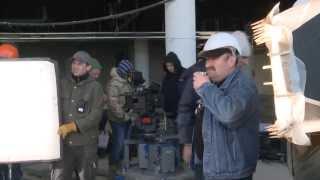 Тигран Кеосаян снимает кино в Олимпийском парке Сочи (Олимпстрой)