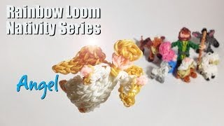 Rainbow Loom Nativity Series: Angel