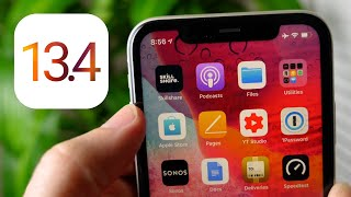 iOS 13.4 Preview!