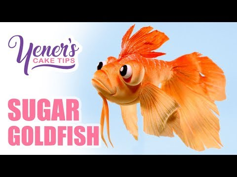 Easy SUGAR GOLDFISH Tutorial | Yeners Cake Tips with Serdar Yener from Yeners Way