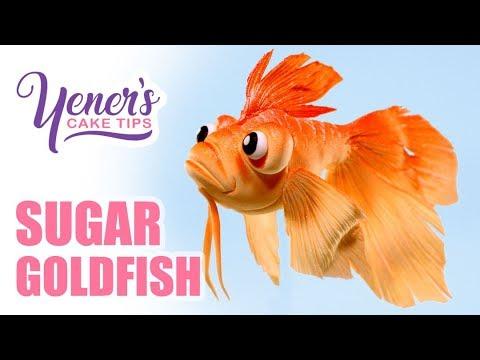 Easy SUGAR GOLDFISH Tutorial | Yeners Cake Tips with Serdar Yener from Yeners Way