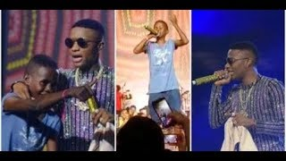 Breaking! Wizkid Signs 12yrs Boy with 10 million, As Olamide, Wande Coal & Mr. Eazi Performs