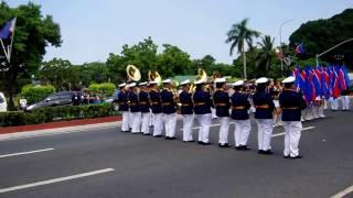 PHILIPPINE COAST GUARD BAND (INDEPENDENCE DAY 2015)