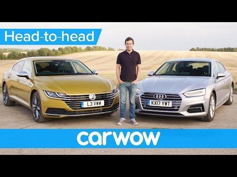 Volkswagen Arteon vs Audi A5 Sportback - which is best?   Head-to-Head