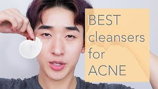 BEST CLEANSERS Low pH Acne Gentle  Korean  American