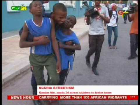 Ghana: Gender Ministry picks up 34 Street Children