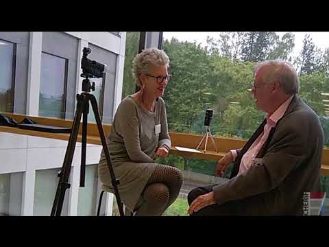 Interviewing Ulrich Teichler 2017 on the conference break