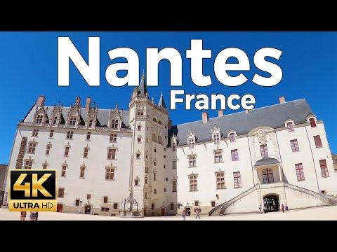 Nantes, France Walking