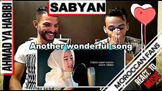 Gambar cover Arab React To | Ahmad ya habibi versi Sabyan || MOROCCAN REACT