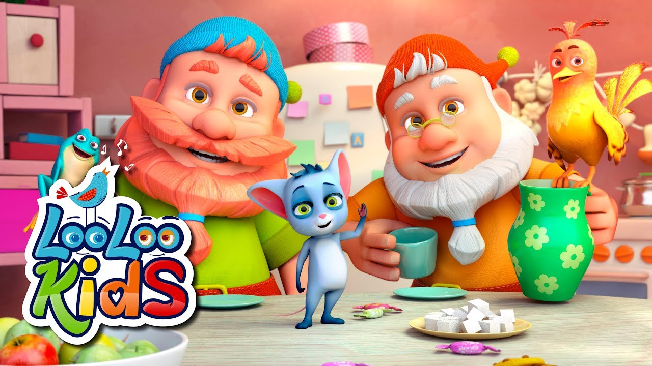 Five Little Friends - THE BEST Songs for Children   LooLoo Kids