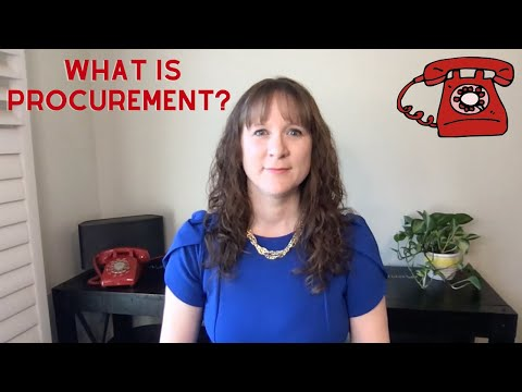 What is procurement? Supply Chain Term Explained.