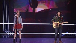 Zinaida Cojocaru & Alexandru Musat - Lost on You | Confruntari | Vocea Romaniei 2016