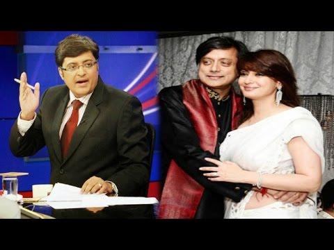 The Newshour Debate: Shashi Tharoor Theories After Murder - Full Debate (13th Jan 2015)