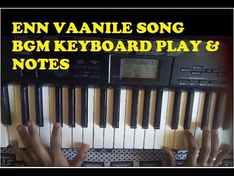 En vaanile song starting BGM_Keyboard play