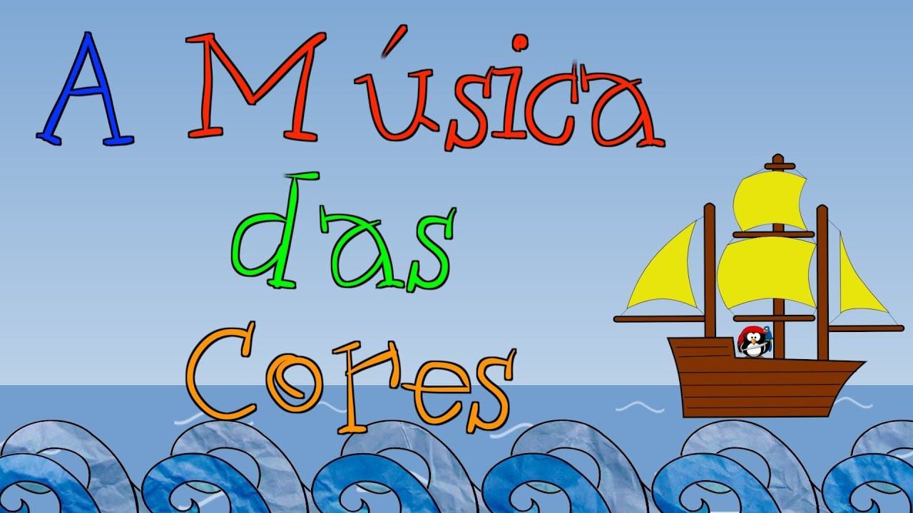 Excepcional GUGUDADA - A Música das Cores (animação infantil) - YouTube FD63
